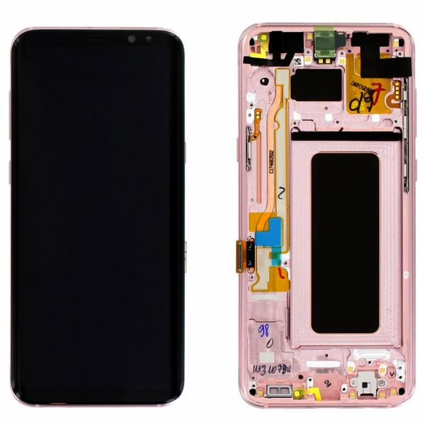 Genuine Samsung Galaxy S8+ Plus SMG955F SuperAmoled Lcd Screen Digitizer Pink