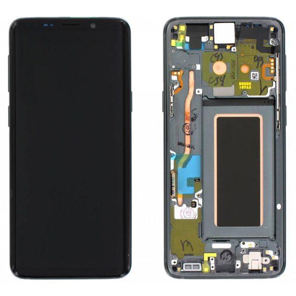 Genuine Samsung Galaxy S9 G960 LCD Screen and Digitizer Titanium Grey
