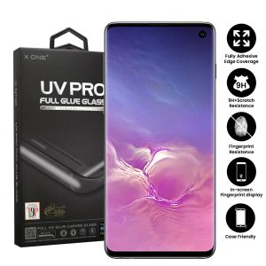 Samsung Galaxy S10 Full Glue UV Tempered Glass Screen Protector