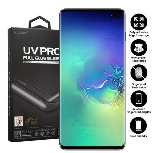 Samsung Galaxy S10+ Plus Full Glue UV Tempered Glass Screen Protector