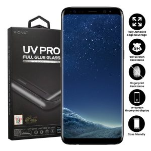 Samsung Galaxy S8 Plus Full Glue UV Tempered Glass Screen Protector