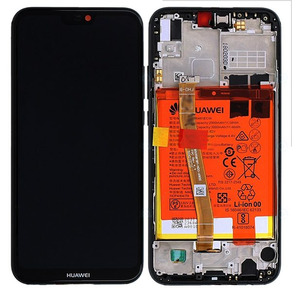 Genuine Huawei P20 Lite Dual Sim ANE-L21 LCD Screen and Digitizer Black
