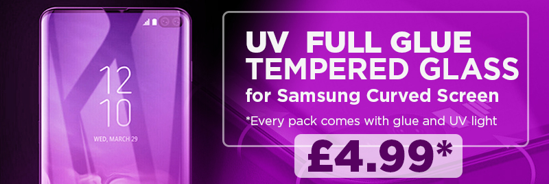 Samsung UV Tempered Glass