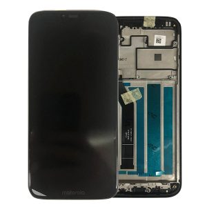 Genuine Lenovo Motorola G7 Power XT1955 LCD Screen and Digitizer Black