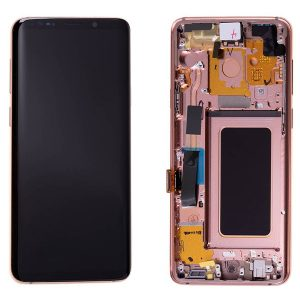 Genuine Samsung Galaxy S9+Plus G965F SuperAmold Lcd Pink Gold