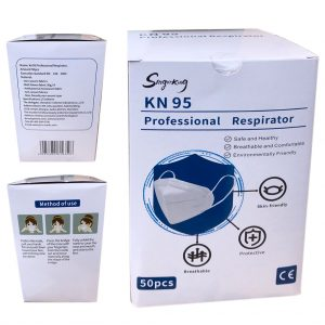 5-PLY KN95 FFP2 Folding Anti-Particulate Face Mask 1000 PCS