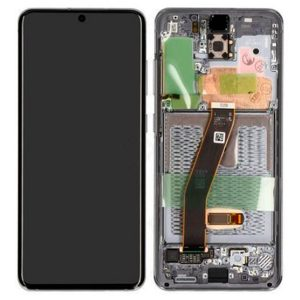Genuine Samsung Galaxy S20 G980 SuperAmoled Lcd Screen With Digitizer Grey