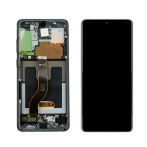 Get Genuine Samsung Galaxy S20 Plus G986 Dynamic Amoled Screen With Digitizer Black delivered in UK, EU and rest of the world