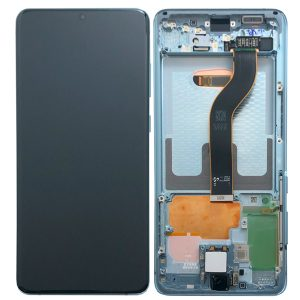 Genuine Samsung Galaxy S20 Plus G986 SuperAmoled Lcd Screen With Digitizer Blue
