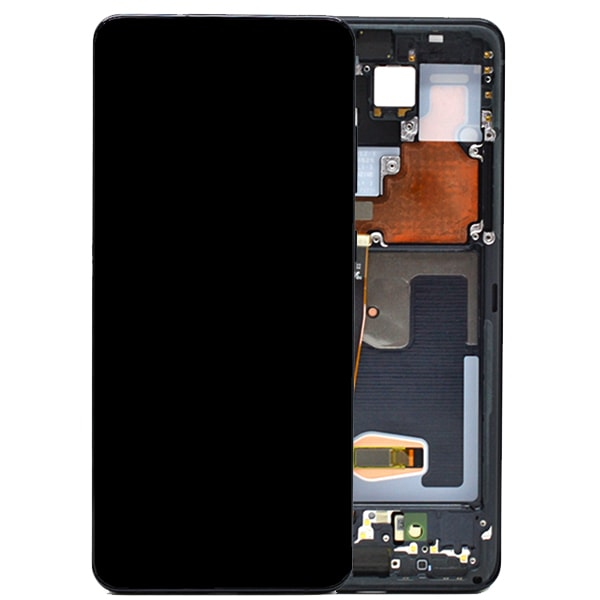 Get Genuine Samsung Galaxy S20 Ultra G988 Dynamic Amoled Screen with Digitizer Black delivered in UK, EU and rest of the world.