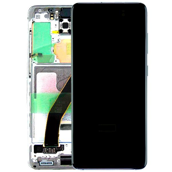 Genuine Samsung Galaxy S20 G980 SuperAmoled Lcd Screen With Digitizer White