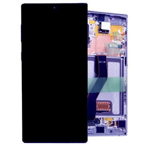 Genuine Samsung Galaxy Note 10 Plus 5G G976 SuperAmoled Lcd Screen With Digitizer Blue
