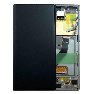 Genuine Samsung Galaxy Note 10 Plus N975 LCD Digitizer Aura Glow Silver