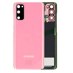 Genuine Samsung Galaxy S20 G980 Battery Back Cover Cloud Pink