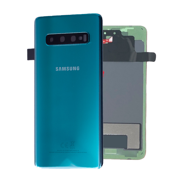 Genuine Samsung Galaxy S10 G973 Battery Back Cover Prism Green