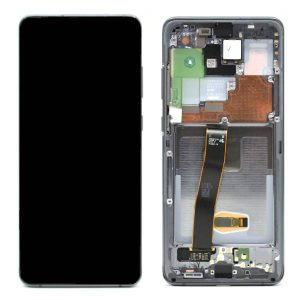 Get Genuine Samsung Galaxy S20 Ultra G988 Dynamic Amoled Screen with Digitizer Grey delivered in UK, EU and rest of the world.