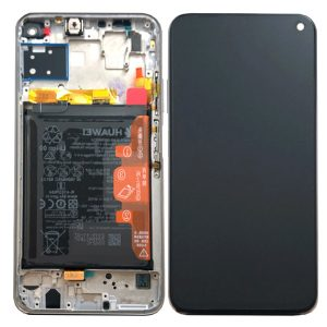Genuine Huawei P40 Lite LCD Screen and Digitizer Black plus Battery