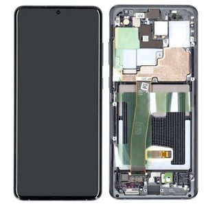 Genuine Samsung Galaxy S20 Ultra G988 SuperAmoled Lcd Screen with Digitizer Grey