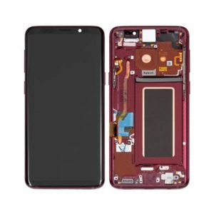 Genuine Samsung Galaxy S9 G960 LCD Screen and Digitizer Red