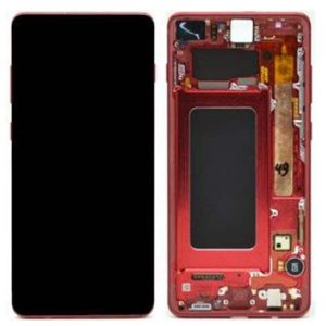 Genuine Samsung Galaxy S9 Plus G965 SuperAmold LCD and Digitizer Red