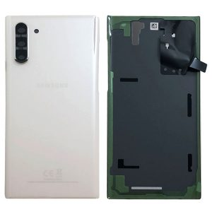 Genuine Samsung Galaxy Note 10 N970 Battery Back Cover Aura White