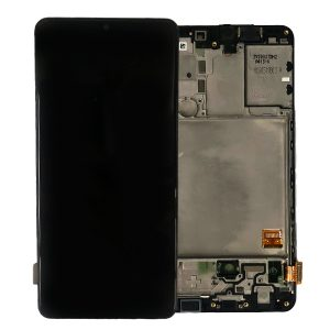 Genuine Samsung Galaxy A41 2020 A415 LCD Screen with Digitizer in Black