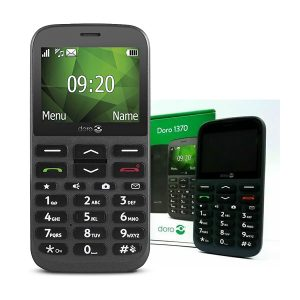 Doro 1370 Single Sim Boxed Phone Graphite & White