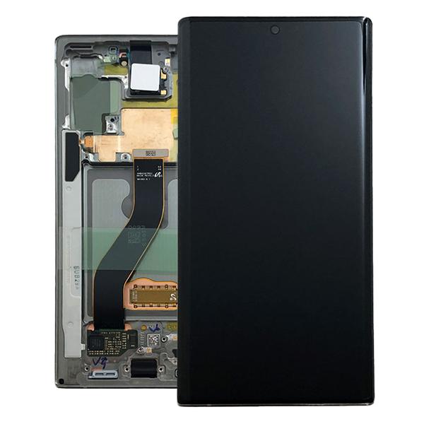 Genuine Samsung Galaxy Note 10 N970 LCD Digitizer Aura Glow Silver