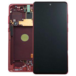 Genuine Samsung Galaxy Note 10 Lite 2020 N770 Lcd Screen Digitizer Aura Red