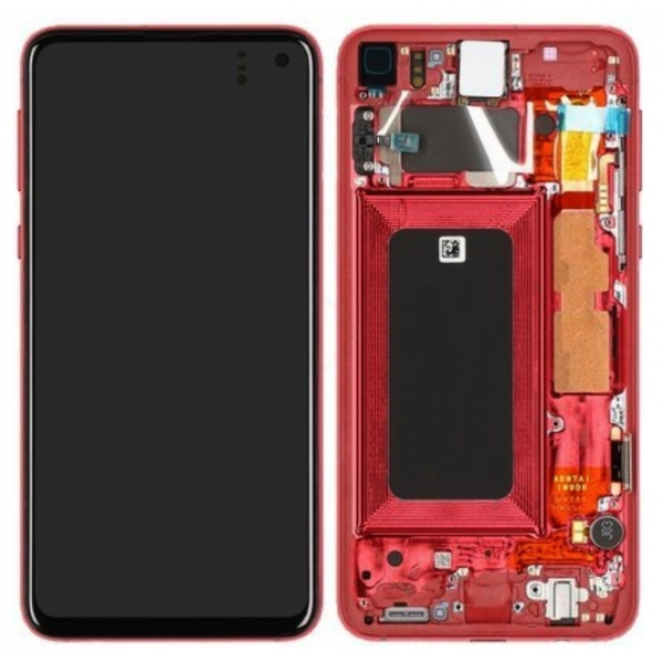 Genuine Samsung Galaxy S10E G970 LCD Screen with Digitizer Flamingo Pink Rose