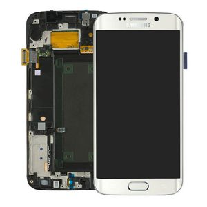 Genuine Samsung Galaxy S6 Edge+ Plus G928F SuperAmoled Lcd Screen with Digitizer White