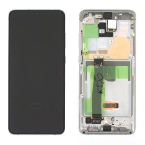 Phone Parts delivers Genuine Samsung Galaxy S20 Ultra G988 Dynamic Amoled Screen with Digitizer White in UK, EU and anywhere in the world.