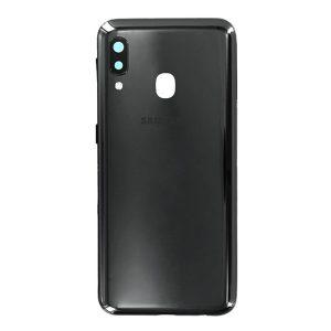 Genuine a202 Samsung Galaxy A20E Battery Back Cover Black