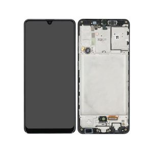 Genuine Samsung Galaxy A31 A315 LCD Display Screen and Touch/ MPN : GH82-22905A Color: black/ delivered in UK, EU and the rest of the world.