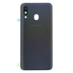 Genuine A405 Samsung Galaxy A40 Battery Back Cover Black