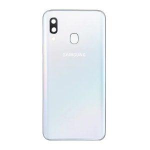 Genuine A405 Samsung Galaxy A40 Battery Back Cover White