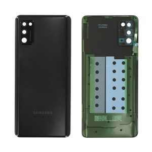 Genuine a415 Samsung Galaxy A41 Battery Back Cover Black