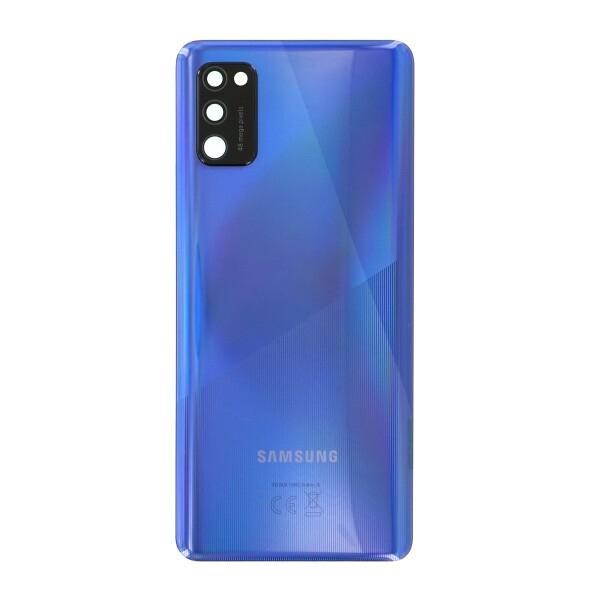 Genuine a415 Samsung Galaxy A41 Battery Back Cover Blue