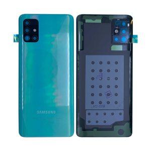 Genuine A515 Samsung Galaxy A51 Battery Back Cover Blue