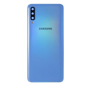 Genuine A705 Samsung Galaxy A70 Battery Back Cover Blue