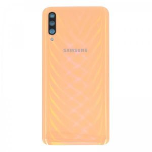 Genuine A705 Samsung Galaxy A70 Battery Back Cover Coral