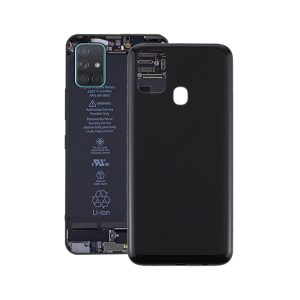 Genuine M315 Samsung Galaxy M31 Battery Back Cover Black