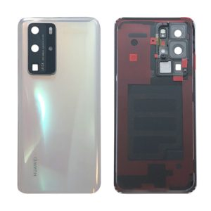 Genuine Huawei P40 Pro Battery Back Cover Ice White