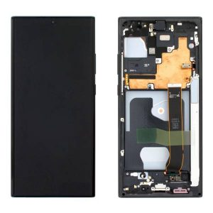 Genuine Samsung Galaxy Note 20 Ultra 5G N986 SuperAmoled Lcd Screen and Digitizer Black   Price: £190.99   In Stock   MPN: GH82-23596A  