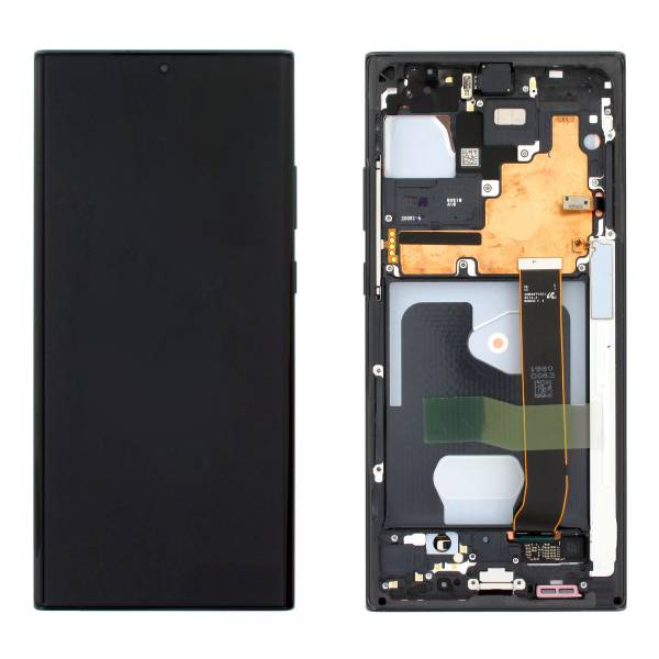 Genuine Samsung Galaxy Note 20 Ultra 5G N986 SuperAmoled Lcd Screen and Digitizer Black | Price: £190.99 | In Stock | MPN: GH82-23596A |