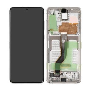 Get Genuine Samsung Galaxy S20 Plus G986 Dynamic Amoled Screen With Digitizer White delivered in UK, EU and rest of the world.