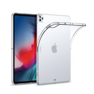 New iPad 12 12.9 inch 2020 Clear Gel Protective Case
