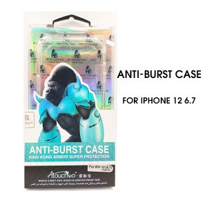 iPhone 12 6.7 inch 2020 Anti-Burst Protective Case Clear