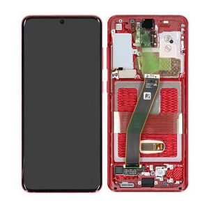 GH82-22123E Samsung Galaxy S20 LCd REd