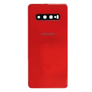 Samsung Galaxy S10 Plus Battery Back Cover Cardinal Red